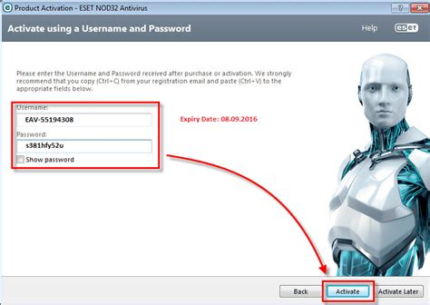 eset nod32 8 username password license activation key free nod32 9 8 serial license keys username and password