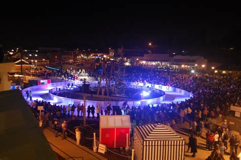 holiday ice rink installation and management in ontario ca