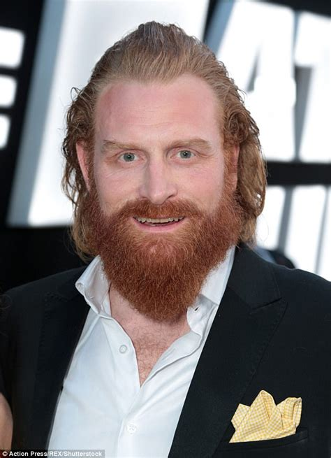 Gamis Lokk of thrones actor kristofer huvju without his beard daily mail