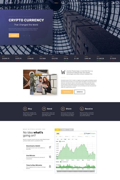corporate multipage html template