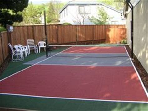 Backyard Basketball Court Price by 25 Best Backyard Basketball Court Ideas On
