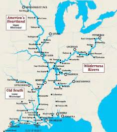 map of rivers and cities mississippi river map