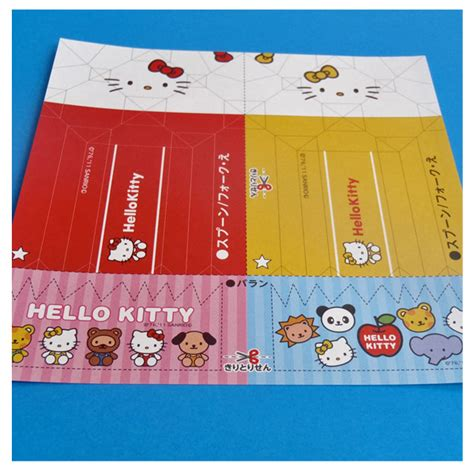 How To Make A Paper Hello - hello and rilakkuma bento papercraft origami