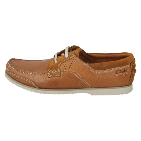 mens clarks boat shoes the style kendrick sail w ebay
