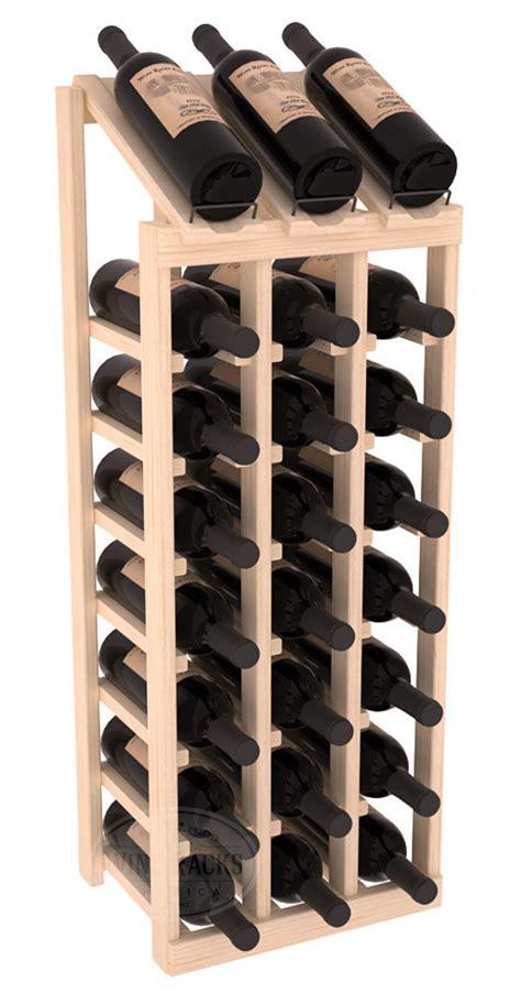 Wine Rack Kit by Handmade Wooden 24 Bottle Display View Wine Rack Kit In