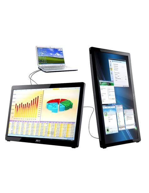 Led Monitor Mobil 16 quot aoc portable led digital