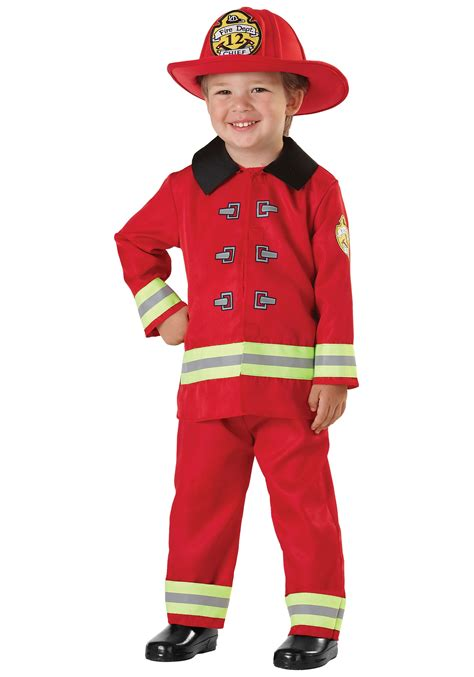 firefighter costume child fireman costume