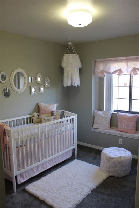 pink and grey nursery l pink and gray cottage chic nursery project nursery