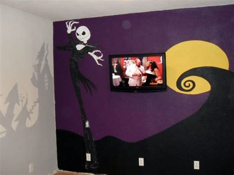 room of nightmare nightmare before mural a room nightmare before before