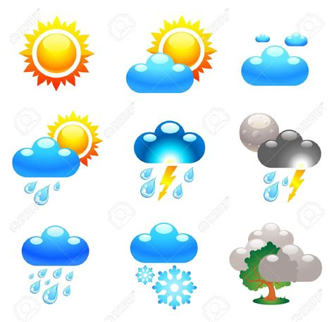 Season clipart weather condition - Pencil and in color ... Free Clip Art Weather Pictures
