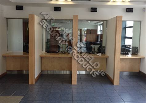 reception desk security screens reception counter1 armour shield