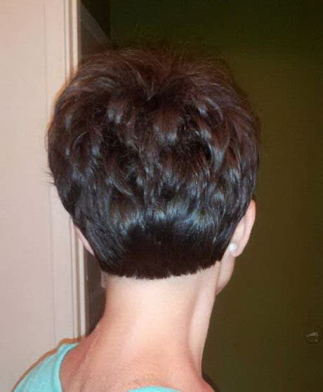 photos of the back of a pixie haircut back view of a pixie haircut