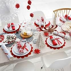 tisch rot weihnachtliche tischdeko selbst gemacht 55 festliche
