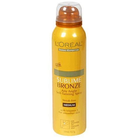 tanning l reviews l oreal sublime bronze self tanning spray medium l