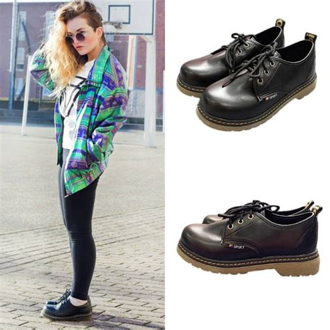 dr low dr martens inspired low cut boots