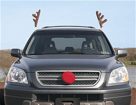 ahhh fuck it are you fuckin kidding me reindeer car