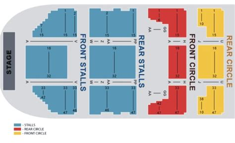 National Theatre Floor Plan by Manchester O2 Apollo