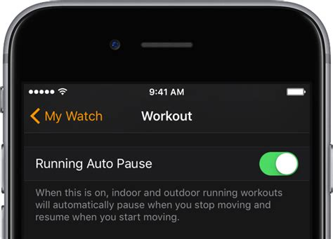 Pause Resume App How To Apple Automatically Pause And Resume Your Runs