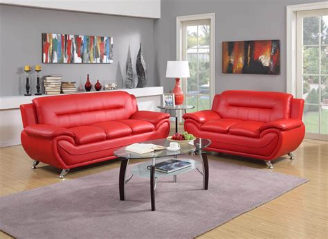 red leather living room furniture red contemporary living room set leather living room sets