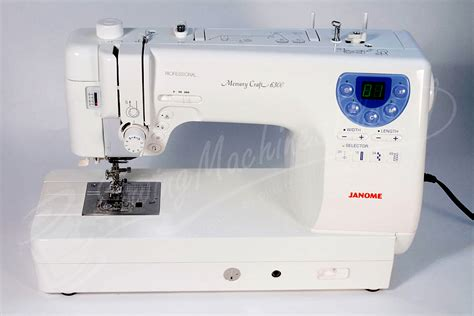 Professional Quilting Machine by Janome Memory Craft 6300 Janome 6300