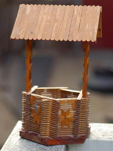 popsicle crafts projects 70 popsicle stick crafts gardens and