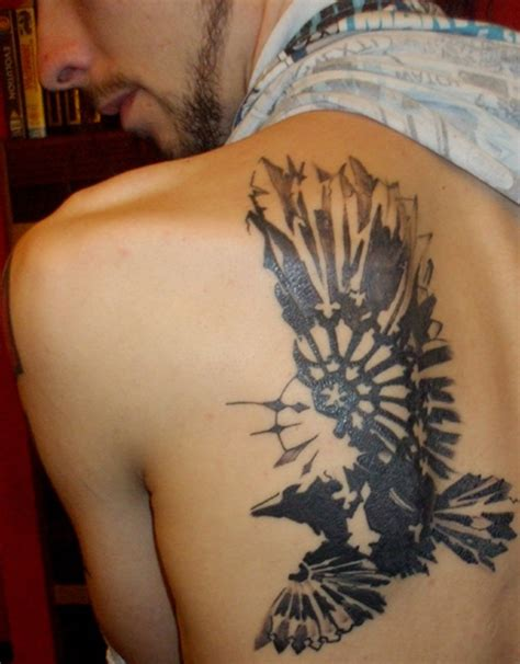raven tribal tattoo 55 artistic designs