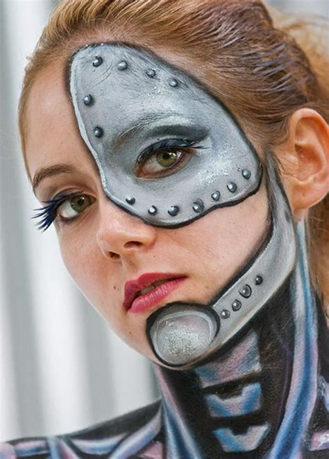 tattoo 3d face 30 awesome face painting tattoo designs for female sheplanet
