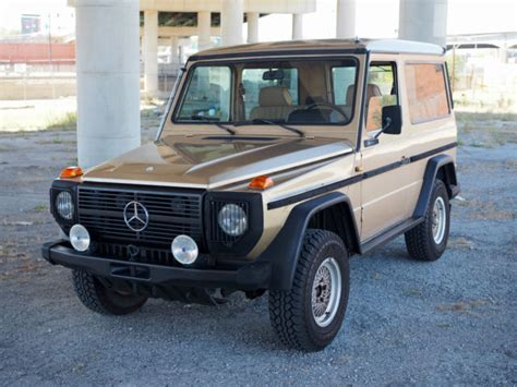 mercedes 280 ge 1984 280ge mercedes g wagen for sale photos technical