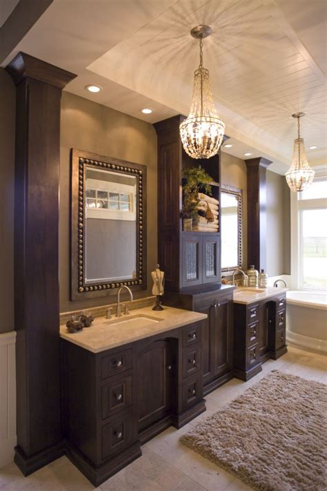 ideas for bathroom vanities and cabinets 25 best ideas about wood bathroom on