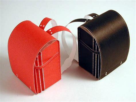 Papercraft Bag - backpack randoseru papercraft papercraft paradise