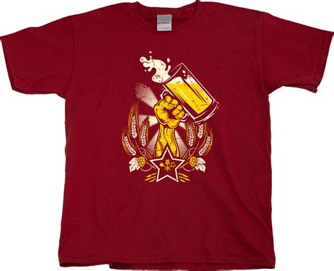 epic soviet print homebrewer home brew t shirt