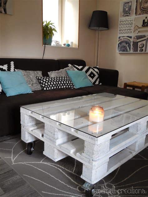 Tables Basses En Palettes by Notre Nouvelle Table Basse En Palettes Id 233 Es Cr 233 Atives