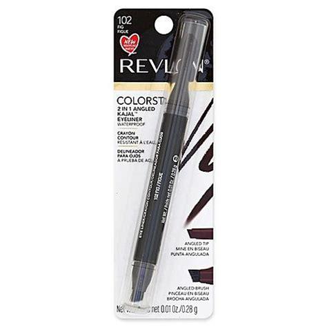 Revlon Kajal Eyeliner revlon colorstay 2 in 1 angled kajal eyeliner fig