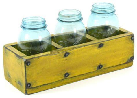 indoor herb pots window box wooden 3 compartment herb planter window box by bridgewood