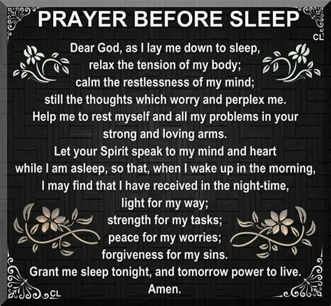 bed time prayers prayer before sleep prayers pinterest amen bedtime