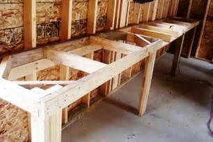 Workbench Designs For Garage 18 diy garage workbench plans ideas photos