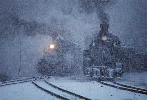trenes en paisajes de invierno friki net
