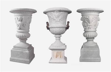 vasi marmo scultura vasi artistici in marmo e pietra