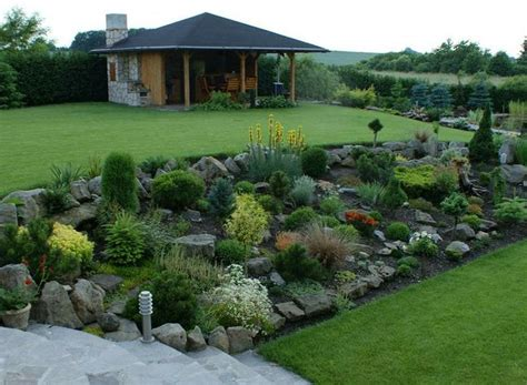 landscaping ideas for downward sloping backyard best 25 landscaping a slope ideas on pinterest sloped