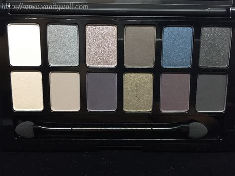Maybeline The Rock Eyeshadow maybelline the rock eyeshadow palette review swatches