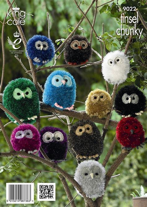tinsel christmas tree knitting pattern king cole tinsel chunky 50g
