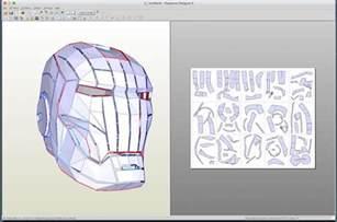 Papercraft Designer - running pepakura designer on a mac to make papercraft
