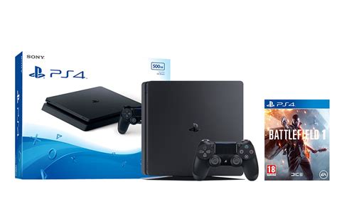 ps4 console ebay ps4 slim 500gb black console battlefield 1 ebay