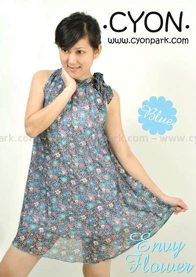 Dress Wanita Size S Pita Leher flower power butik shop tas pesta belt wanita
