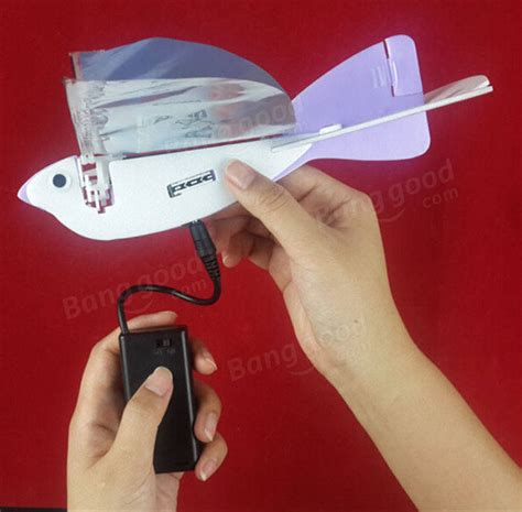 diy electric dove supercapacitor wing flapping bird diy electric dove capacitor wing flapping bird gift sale banggood