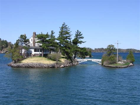 thousand islands panoramio photo of 2 out of 1000 islands according to