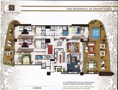 grand luxxe spa tower floor plan aimfair where grand luxxe and other grupo vidanta