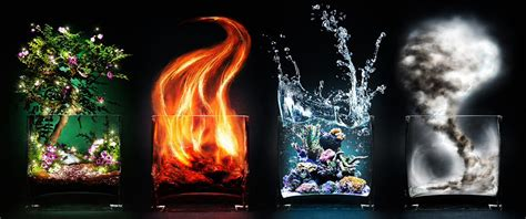 the four elements images earth fire water air wallpaper
