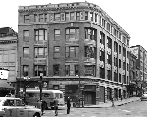 park bank retro baltimore now and then pictures and