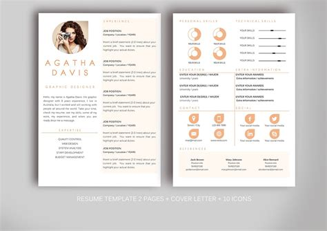 Creative Resume Templates Word by Resume Template For Ms Word Resume Templates Creative